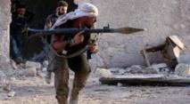 Milicianos en Siria