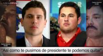 Los hijos del Chapo Guzmán, que en teoría amenazaron a Peña Nieto por la captura de su padre