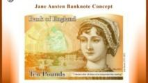 El billete de diez libras que llevará el retrato de Jane Austen