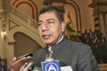 El ministro de Exteriores boliviano Fernando Huanacuni