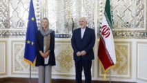 Federica Mogherini-izquierda-y Muhamad Yauad Zarif