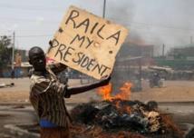 Un partidario de Raila Odinga en Kisumu
