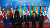 Los presidentes de los países del Mercosur, excepto Venezuela.