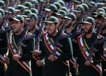 Guardianes de la Revolución iraníes.