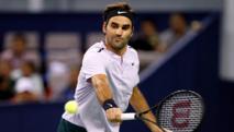 Roger Federer en el Masters 1000 de Shangai