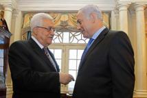 Abbas-izquierda- y Netanyahu