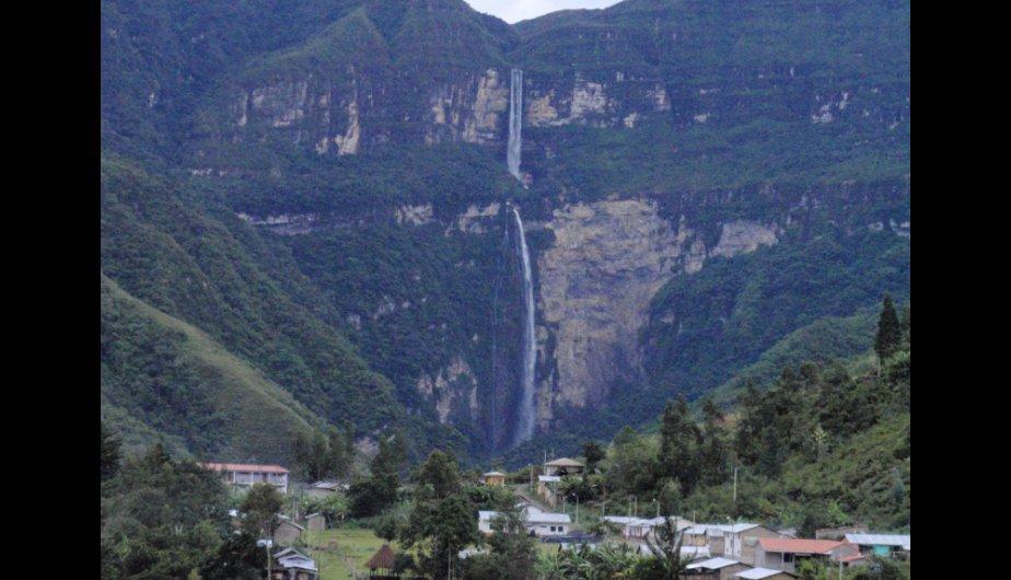 La catarata de Gocta.