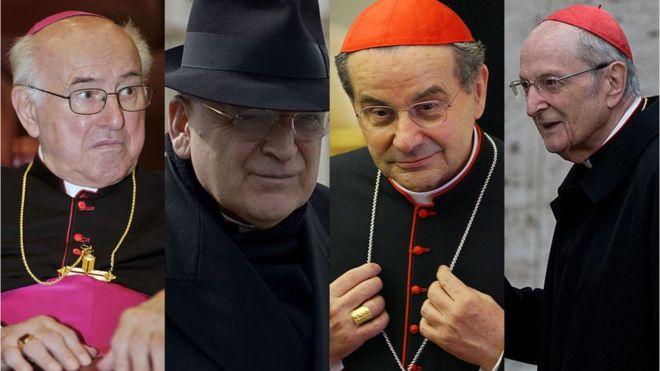 Los cardenales que han escrito la carta