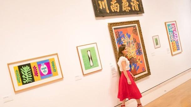 La exposición Matisse en el estudio