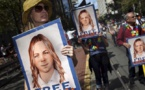 Manifestantes estadounidenses piden la liberación de Chelsea Manning