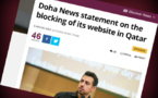 Acusan a Catar de censurar un sitio de información