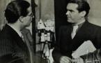 Emilio Pardo-a la izquierda-y Federico García Lorca en Madrid en 1936