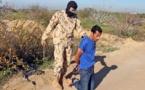 Una ejecución por parte del estado islámico-daesh