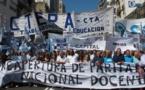 Macri anuncia reforma educativa en medio del conflicto con el sector