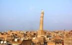 El casco antiguo de Mosul, un dédalo de callejuelas con una mezquita emblemática