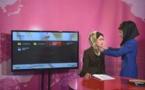 Una grabación en TV Zan