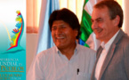 Morales defiende la ciudadanía global en cita mundial de líderes sociales