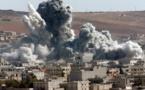 Casi 500 civiles muertos en el último mes por bombardeos de la coalición en Siria