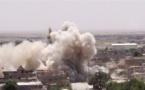 Bombardeo en Tel Afar