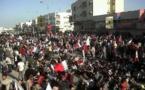 Manifestantes en Bahréin hace tres años