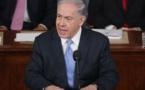 Netanyahu en el congreso estadounidense