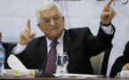 Mahmud Abbas, en Egipto