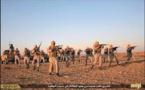 Milicianos armados en Libia
