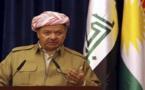 """Líder kurdo iraquí dice que ha """"llegado la hora"""" de un referéndum para crear un Estado"""