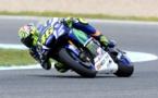 Rossi domina en MotoGP y los líderes de Moto2 y Moto3 exhiben su jerarquía