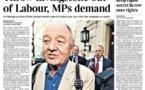 Tormenta en laborismo británico por acusaciones de antisemitismo