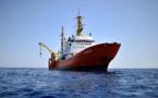 """La cubierta del """"Aquarius"""", paréntesis entre la pesadilla libia y el sueño europeo"""
