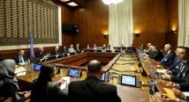 Una de las reuniones en Ginebra