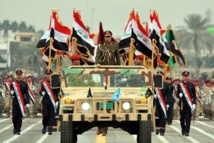 El desfile militar en Bagdad