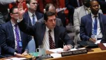 El embajador ruso en la ONU, Vladimir Safronkov