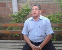 El sacerdote acusado Silvestre Olmedo
