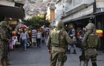 Militares en Rocinha