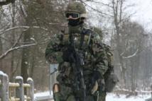 Soldados de la Fuerza de Reacción Rápida de la UE