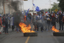 Miles manifiestan contra el Gobierno en ciudad de Nicaragua