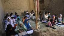 Una escuela en Afganistán