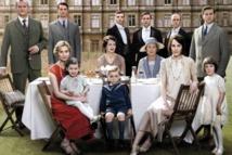 Algunos personajes de Downton Abbey