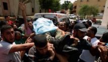 Dos palestinos muertos a manos de soldados israelíes en frontera Gaza