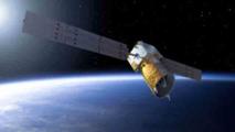 Representación del satélite Aeolus