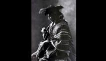 """Retrato de Miguel Quispe """"El Inca"""", hecho por el fotógrafo peruano Martin Chambi en 1926."""