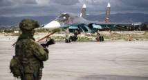 Soldados rusos en Siria