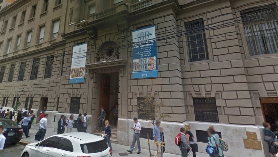La escuela cristiana de los Hermanos Maristas Champagnat en Buenos Aires, Argentina