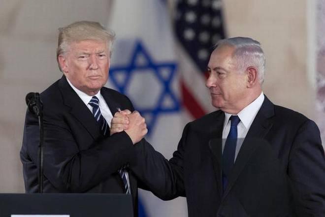 Trump-a la izquierda-y Netanyahu
