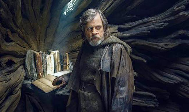 """Mark Hamill en """"Los últimos Jedi"""""""