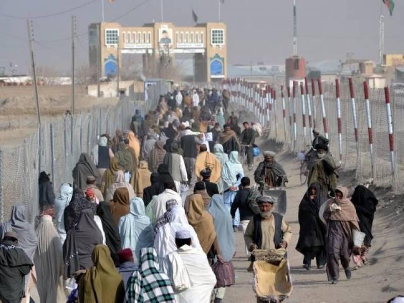 La frontera entre Afganistán y Pakistán
