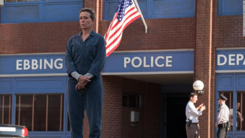 Frances McDormand en una escena de Three Billboards outside Ebbing, Missouri