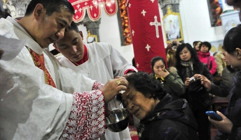 Cristianos chinos